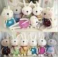 Mixed Color Kawaii 12cm Length Metoo Rabbit Plush Stuffed Toy Doll Cellphone Strap Pendant Mobile Phone Charm Plush Toy