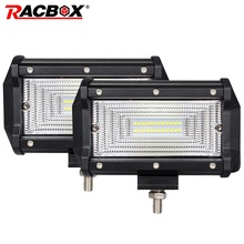 Fog LED Headlight 4'' 5'' 7'' 18W 36W 60W 72W Offroad WorkLight 12V 24V Beam 4x4 tractor Spotlight Lamp for Truck Jeep Wrangler