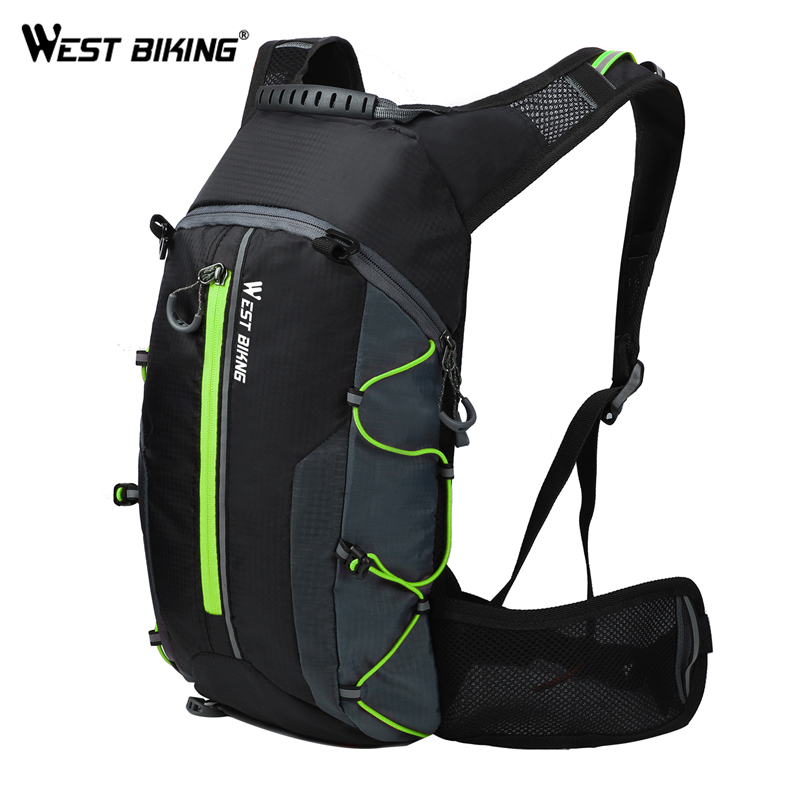 WEST BIKING Ultralight Bicycle Bags Outdoor Sports Backpack Breathable Men Women Bike Bag Hydration Water Bag