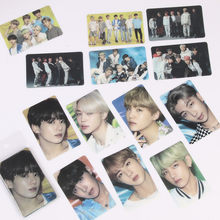 חדש KPOP Bangtan אלבום PVC שקוף כרטיס נייר Photocard פוסטר HD Photocards 13pc(China)