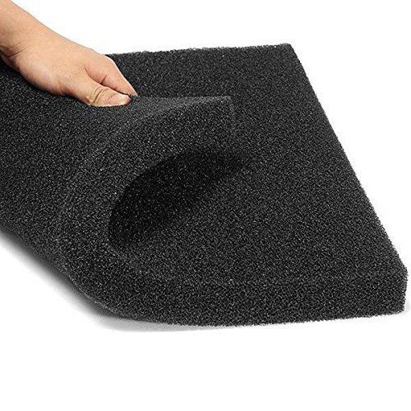 1 Piece 3 Sizes Black Filtration Foam Aquarium Fish Tank Biochemical Filter Sponge Pad Light weight And Softness Design FA004