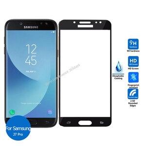 Защитное стекло, закаленное стекло 9h для Samsung Galaxy J7 Pro 2017 J7Pro J 7 730F SM J730F