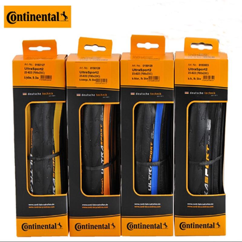 Origianl 2 PCS Continental grand sport folding tire 700x23c 700 25C ultra sport GP4000 II Grand
