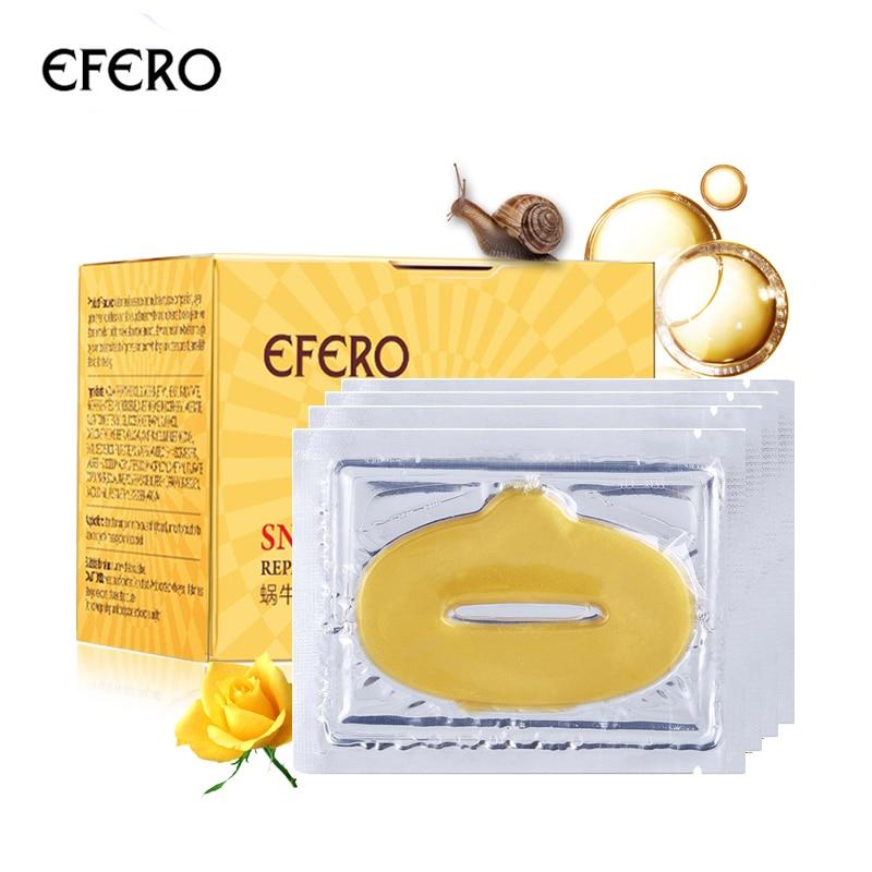 efero Snail Cream Serum for Face Care Whitening Cream Anti-wrinkle Snail Cream Moisturizing Anti-aging Serum & 5pcs Lip Masks