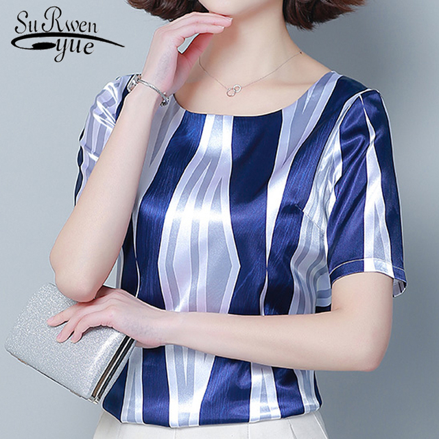 Loose Silk Women Shirts...