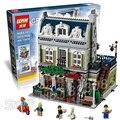 2418 шт. 15010 Создатель Экспертов Парижского Ресторана Модель Строительные Блоки Кухня квартира Игрушки Совместимость с Lego