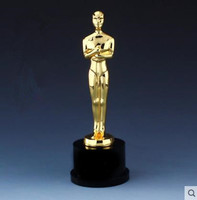 Crystal trophy, figure statue crafts, Oscar model, creative commemorative gift