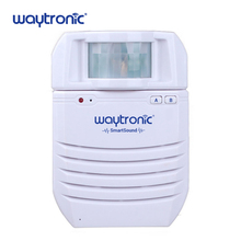 Infrared Motion Sensor Detector Voice Reminder Voice Recordable Sound Speaker Lithium Battery Powered Support SD Card Playback