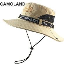 5450a77358d24c Breathable Mesh Summer Sun Hats Quick Dry Beach Male Wide Brim Sun Men  Women Outdoors UV Protection Fishing Bucket Hat Flat