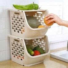 Nhbr キッチン収納バスケットプラスチック多機能中空野菜とフルーツラックカバーストレージバスケット主催収納ボックス & ビン