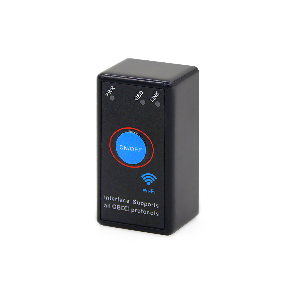 ELM327 WiFi Bluetooth V1 5 PIC18F25K80 Chip Power Switch on off OBDII Diagnostic Tool iPhone Android ELM327 WiFi Bluetooth V1.5 PIC18F25K80 Chip Power Switch on/off OBDII Diagnostic Tool iPhone/Android/PC ELM 327 OBD2 Torque