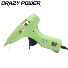 Crazy Power 30W Mini Electric Glue Gun Hot Melt Stick Heater Trigger Repair Tool EU Plug Power Off Automatic Paste Crafts