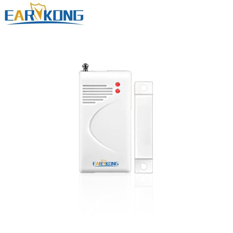 433MHz Wireless Magnetic Door Window Open Detector Alarm For Wifi / GSM / PSTN Home Burglar Security Alarm System