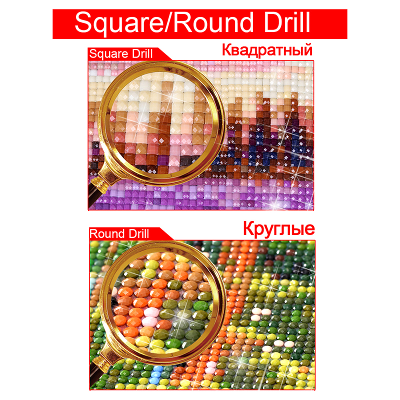 Diamond Embroidery Cat Cash Pattern DIY 5D Diamond Painting Needlework Cross Stitch Full Drill Rhinestones DD