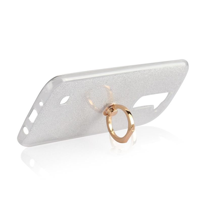 352bbb1bc56 Características: TPU transparente suave + papel de tarjeta brillante +  anillo de dedo. Lista de paquetes >>>> 1 * funda de teléfono
