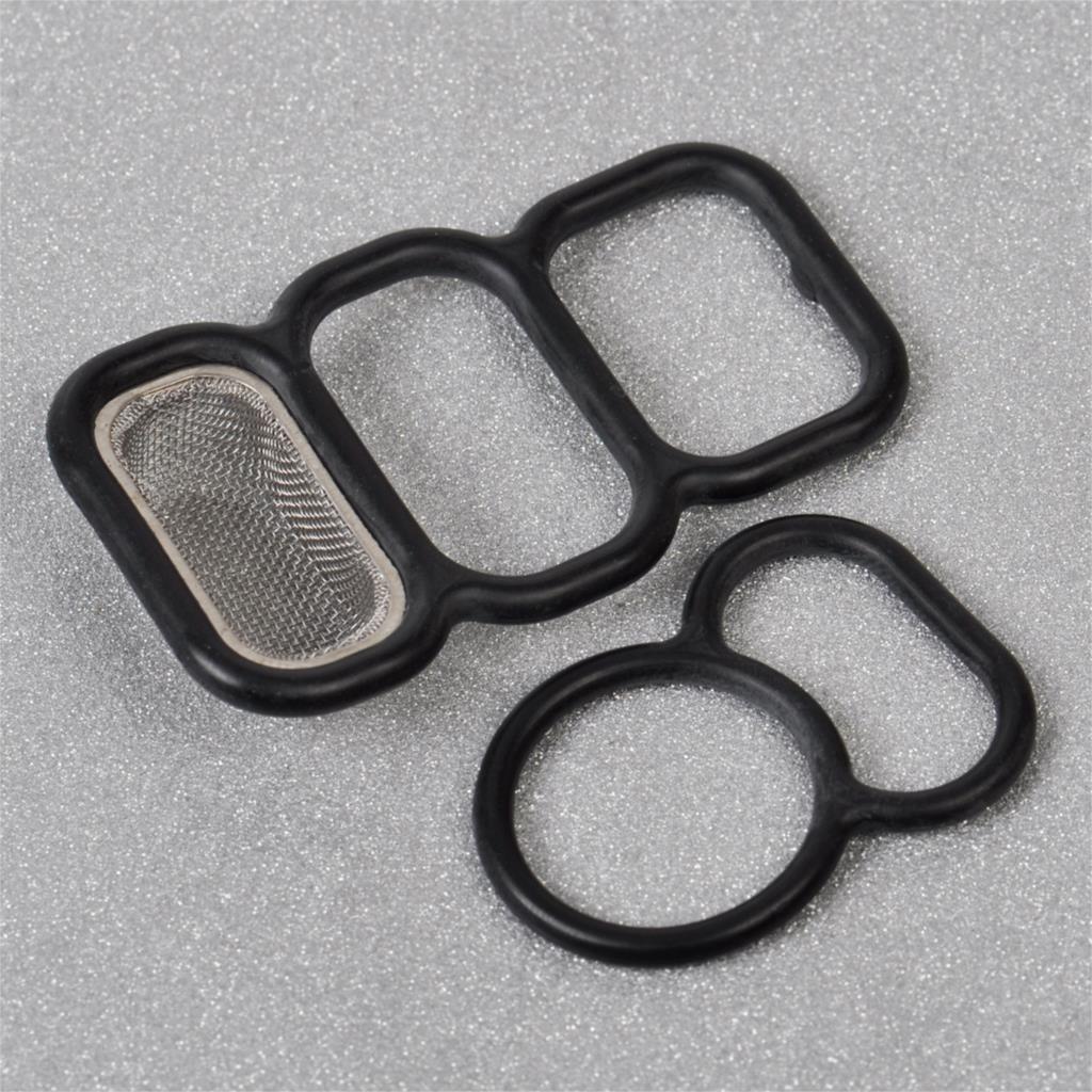 Upper + Lower Spool Valve VTEC Solenoid Gasket Filter Seal