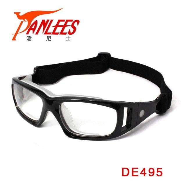 c3512b85c0c1 Panlees Adjustable PC Eyeglasses Sports Eyewear Prescription Goggle Basketball  Handball Myopia Glasses Sport Glasses For Soccer
