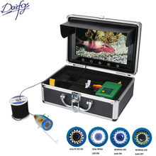 9 Inch 1000TVL Fish Finder Underwater Fishing Camera 50M 15pcs White LEDs 15pcs Infrared Lamp For