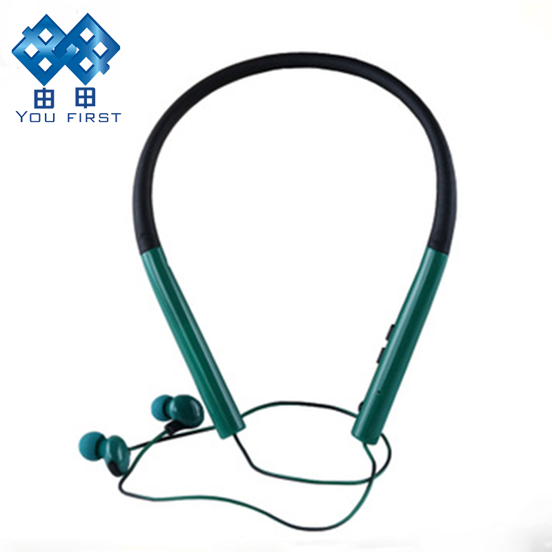 YOU FIRST Bluetooth Earphone Stereo Sport Neckband Earphone Handsfree Bluetooth Earphone With Microphone For Mobile Phone iPhone you first wireless headphone bluetooth earphone sport stereo neckband bluetooth headset with micorphone kulaklik for phone