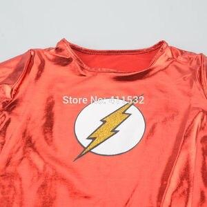 Image 5 - Costumes cosplay de super héros flash pour filles, tenue de fête Tutu fantaisie pour halloween, carnaval pour enfants nl135