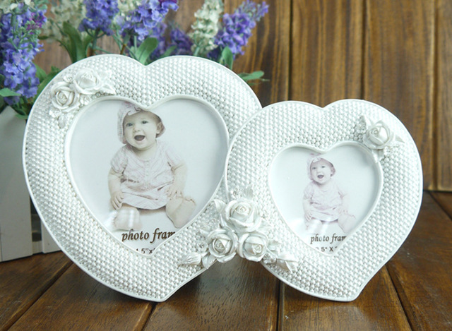 European Style Garden Lovers Heart Shaped Picture Frames Handmade ...