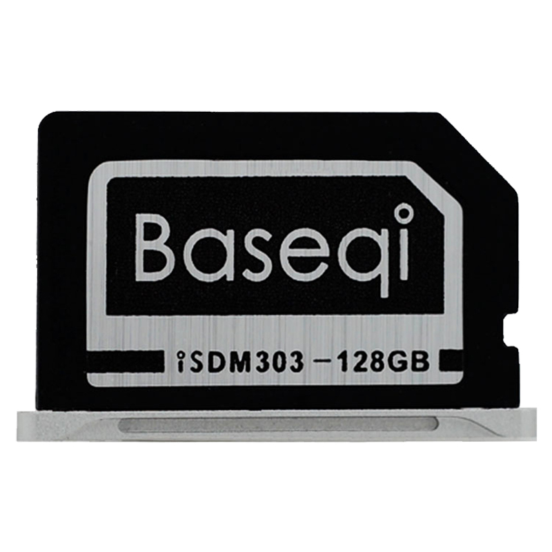 Baseqi Ninja Stealth Drive 128GB Aluminum Minidrive for Macbook Pro Retina 13inch 5pcs set original baseqi aluminium dust plugs quality dustproof plug for macbook pro retina 13