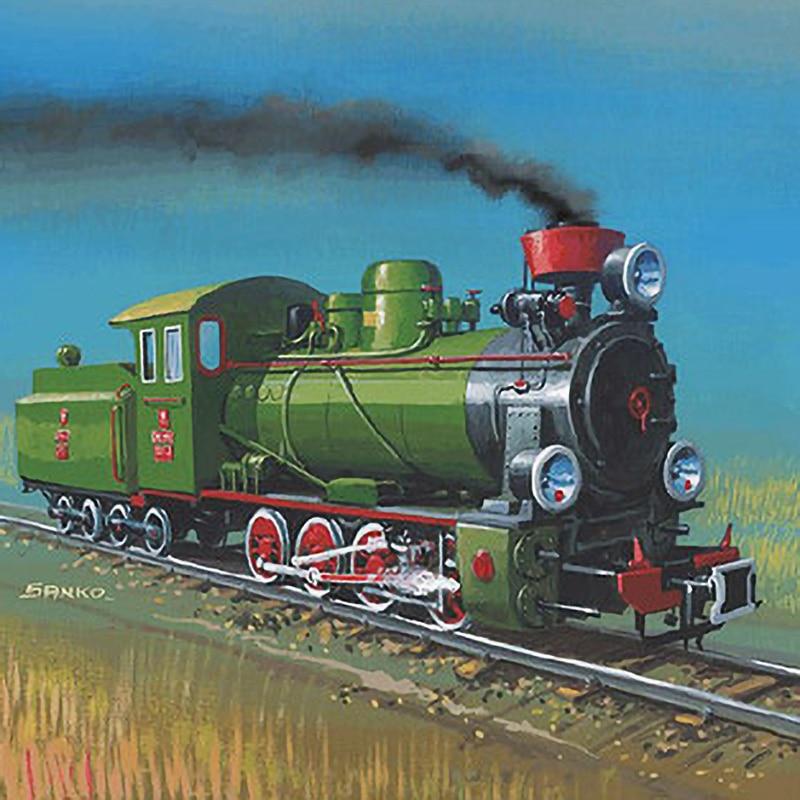 1:25 modèle en papier à monter soi-même Locomotive à vapeur polonaise Px-29 1929 cadeau garçon Papercraft Puzzle 3D