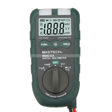 MASTECH Mini Digital Multimeter DMM Ammeter Voltmeter Ohmmeter NCV multimetros multimetr multitester multimetre digitale medidor