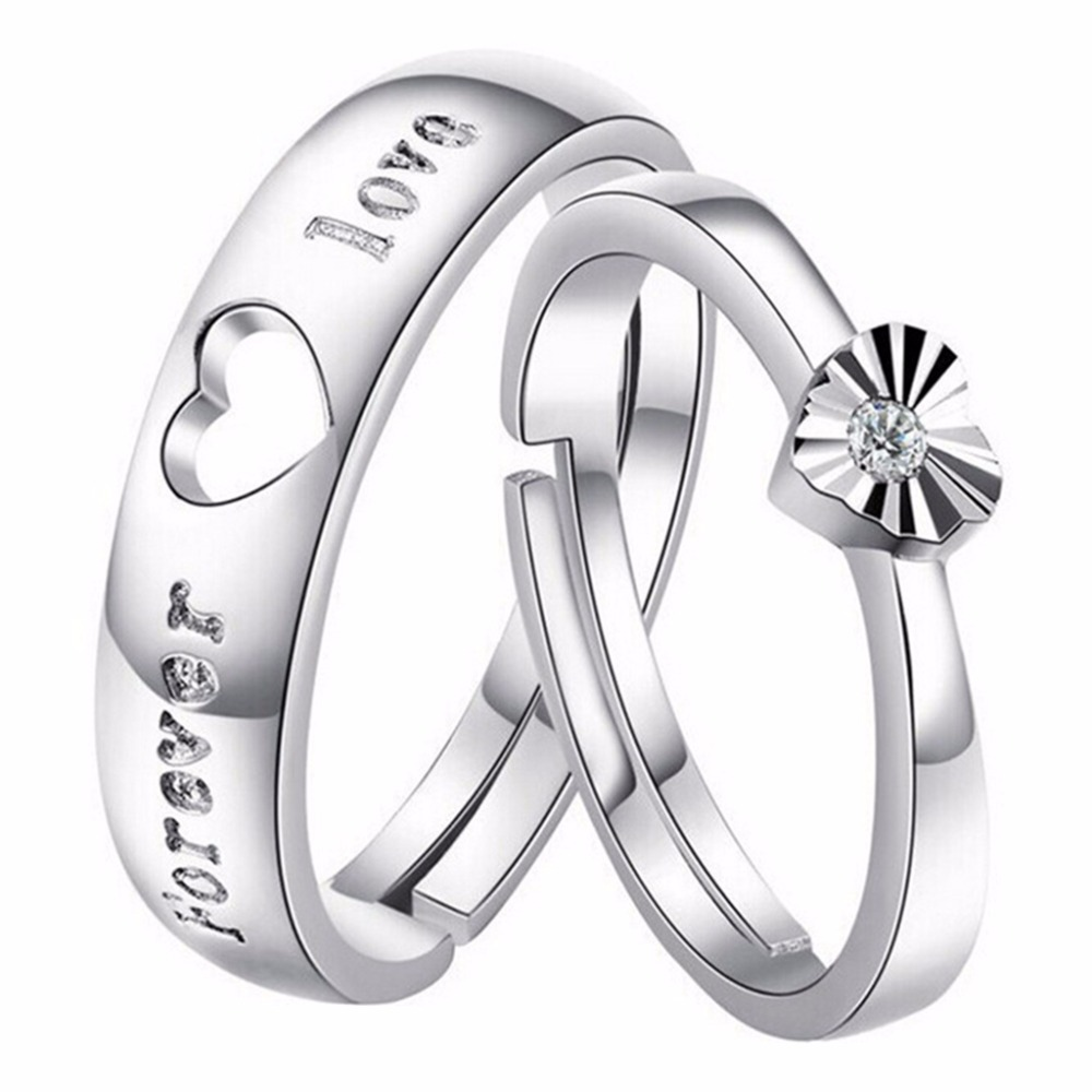 Popular Promise Rings Unisex-Buy Cheap Promise Rings Unisex lots ...