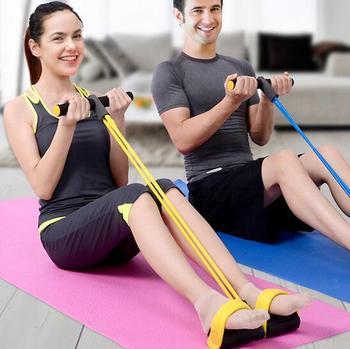 5 kolorów brzucha odchudzanie ciała Shaper brzuch trymer odporność zespoły pull-up działania Rower brzucha Exerciser sprzęt Fitness