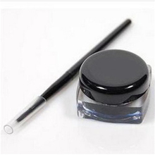 Eyeliner 2016 Fashion Gel Eyeliner Water-proof And Smudge-proof Cosmetics Set Eye Liner Kit in Eye Makeup with Makeup Brushes
