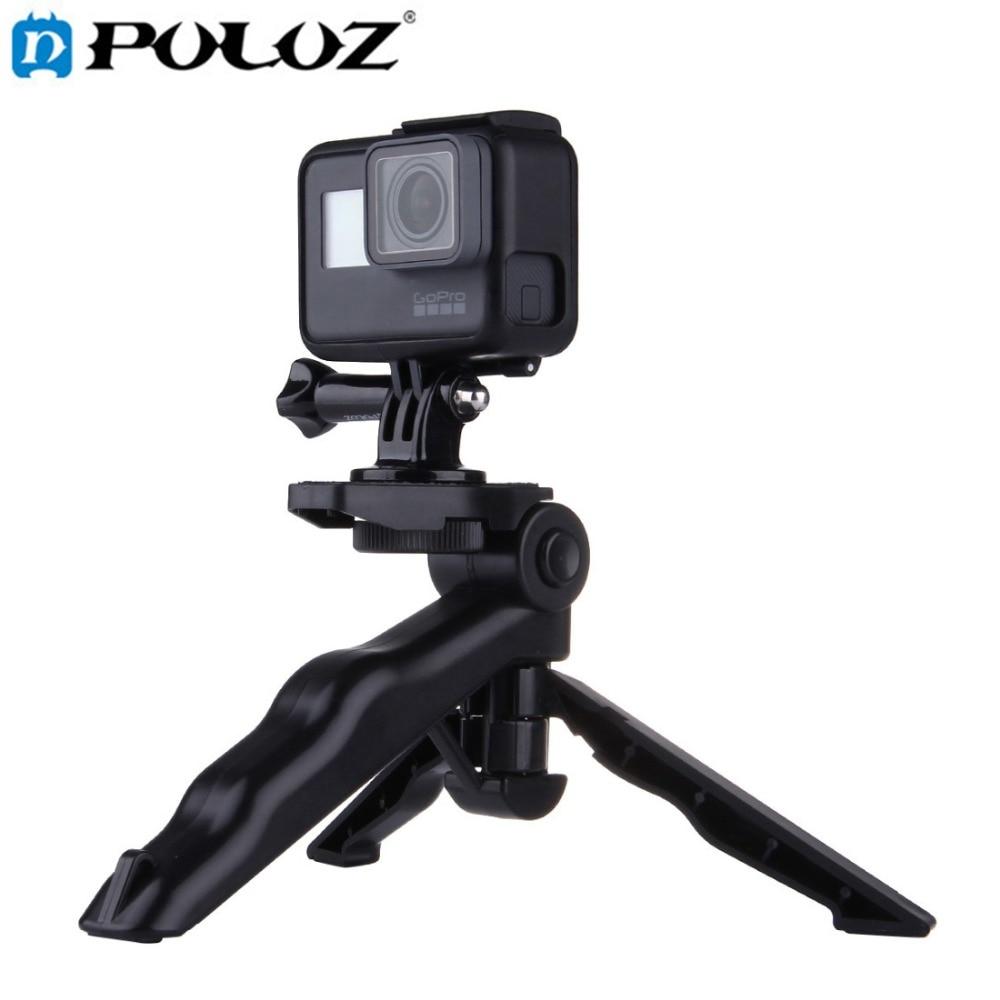 PULUZ Grip Plegable trípode con adaptador y tornillos para GoPro - Cámara y foto - foto 1
