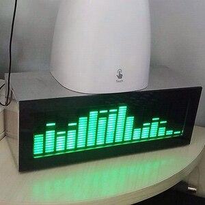 Image 5 - HIFI DIY 레벨 LED 음악 스펙트럼 분석기 오디오 레벨 VU 미터 MP3 PC 앰프 오디오 표시기 속도 조절 가능 AGC