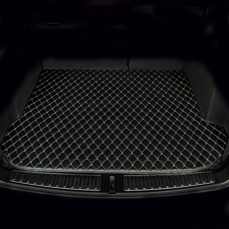 Custom make car Trunk mats for <font><b>Mercedes</b></font> Benz W169 W176 W245 W246 W204 W205 A <font><b>B</b></font> C class <font><b>180</b></font> 200 250 heavy liners rugs image