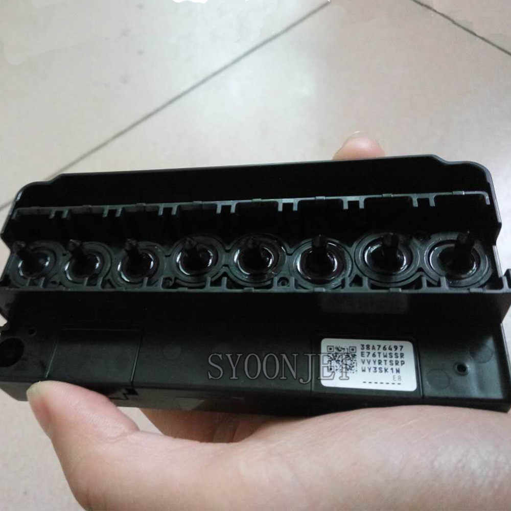 Jaminan 98% Nozzle Ok Direnovasi Digunakan DX5 Print Head untuk Epson F186000, F160010, F158000, F187000