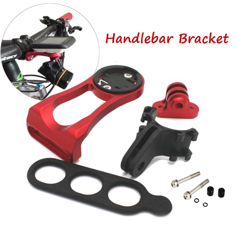 4 In 1 Bicycle Stem Mount Holder Headlight Clamp Bicycle Handlebar Extension Bracket Adapter For GARMIN