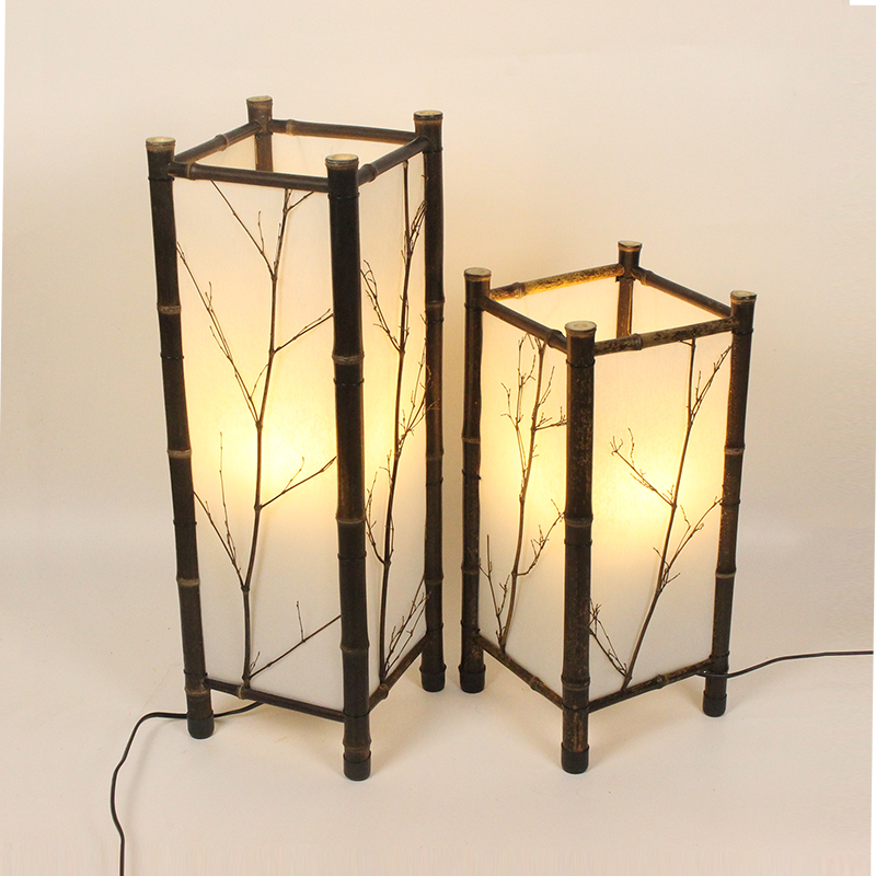 LED chinesische Art-Weinlese-Lampen-Bambuslicht-Innenbeleuchtung - Innenbeleuchtung