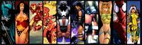 Comics The Avengers Hawkeye Thor IronMan Hulk Captain America Poster Print Waterproof Canvas Fabric Art Wall