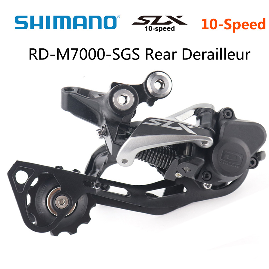Shimano SLX RD M7000 SGS 10 Speed Rear Derailleur MTB bike derailleurs Shadow RD Rear Derailleur