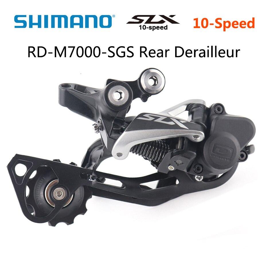 Shimano SLX RD-M7000 SGS 10 Vitesse Dérailleur Arrière VTT vélo dérailleurs Ombre RD + Arrière Dérailleur long VTT pièces