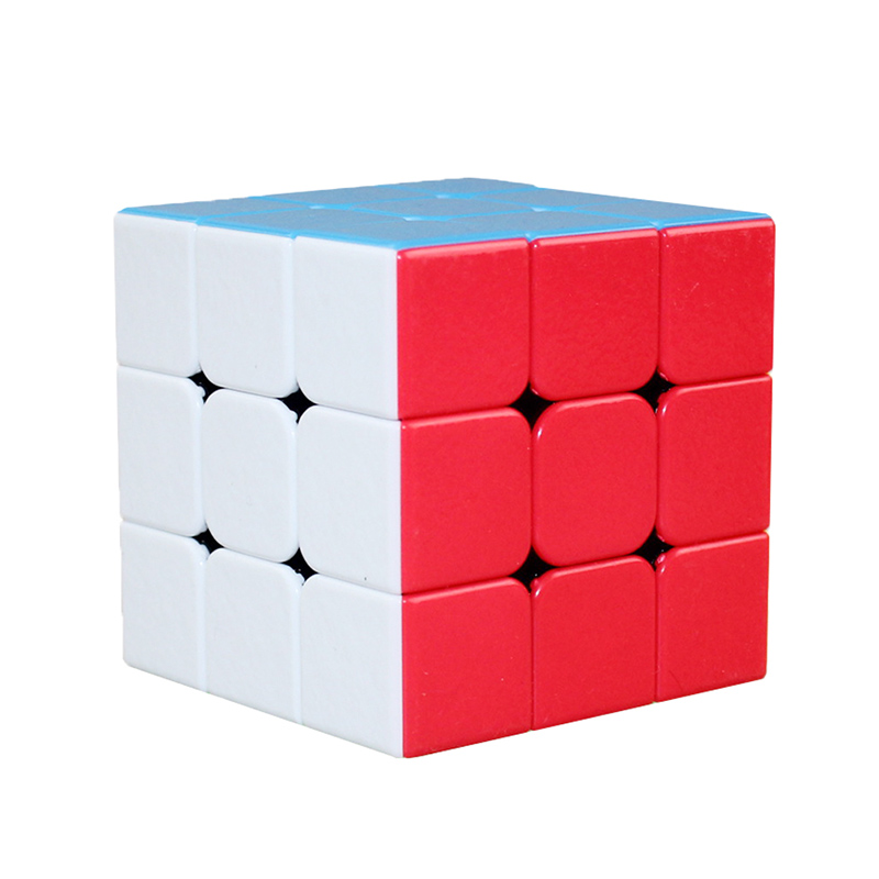 Colorful Rubiks Cube 3x3x3 Magico oyuncak Non Stickers Classic Toys Magic Cube Speedcube 56mm Puzzle 3*3*3 Speed Neo Cube Rubiks