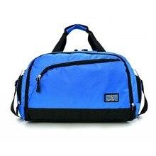 Водонепроницаемая спортивная сумка для фитнеса для мужчин и женщин, вместительные багажные сумки, чемоданы, простая уличная дорожная Повседневная сумка через плечо