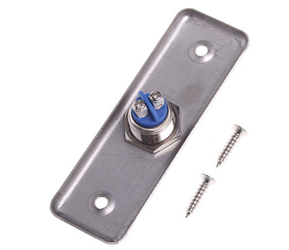 Stainless Steel Rectangle Exit Push Release Button Switch For Electric magnetic Lock Door Access Control push button switch xb4 series zb4bg2 zb4 bg2