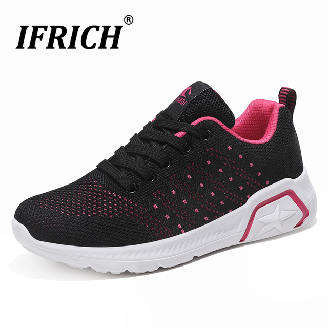 New Trend Athletic Running Shoes Women Brand Gym Sneakers For Women Fly Wire Breathable Ladies Sport Shoes Cheap Jogging Shoes
