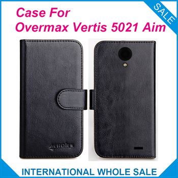 6 Colors Hot! 2016 Overmax Vertis 5021 Aim Case,High Quality Leather Exclusive Case For Overmax Vertis 5021 Aim Cover Tracking image