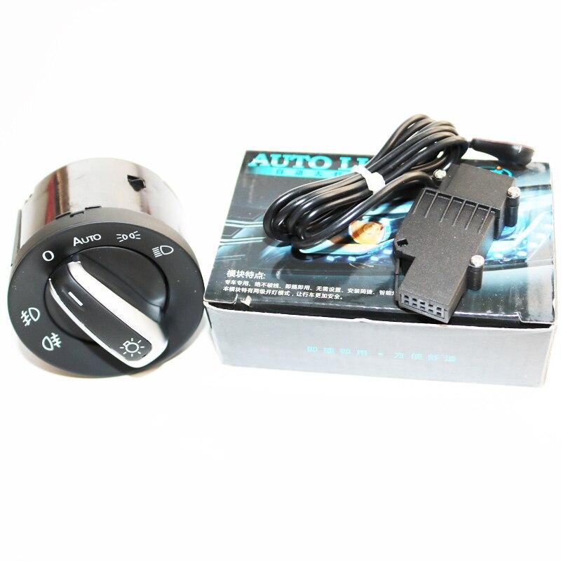 Genuine Headlight Switch and Auto Headlight Switch Sensor For VW Golf 5 6 MK5 MK6 Tiguan Passat B6 B7 CC Touran Jetta MKV