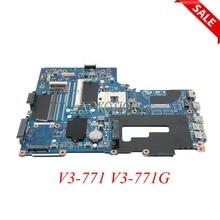Бесплатная доставка.NB.RYR11.001 NBRYR11001 for Acer Aspire V3-771 V3-771G ноутбук материнская плата VA70/VG70. Процессор Intel Интегрированная материнская плата.