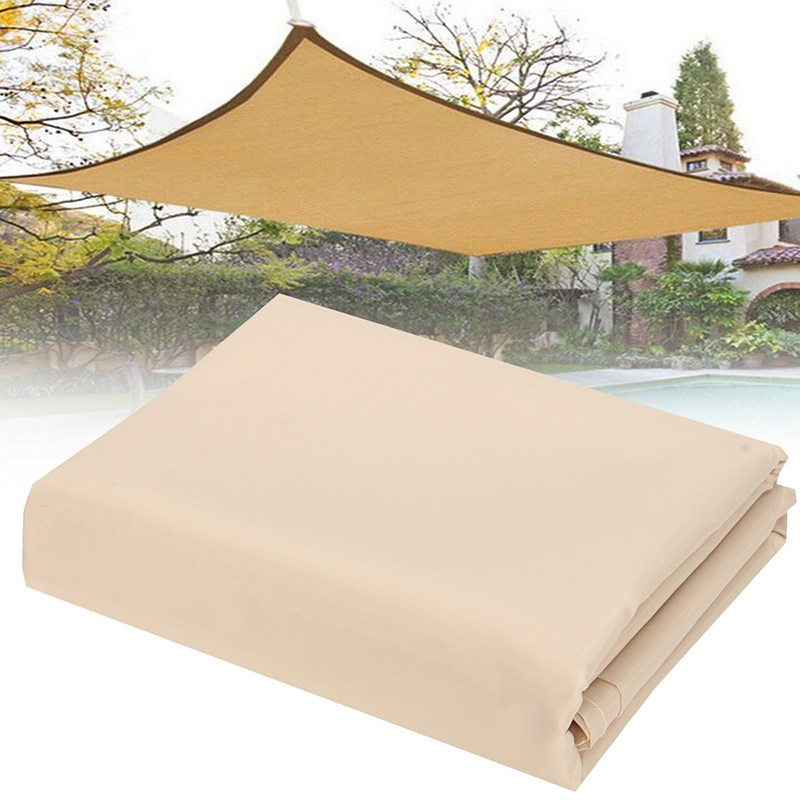New Beige 2X1.8m Sun Shade Sail Mesh Net Outdoor Garden Plant Cover Canopy Waterproof Awning edge Anti-UV Sun shelterNew Beige 2X1.8m Sun Shade Sail Mesh Net Outdoor Garden Plant Cover Canopy Waterproof Awning edge Anti-UV Sun shelter