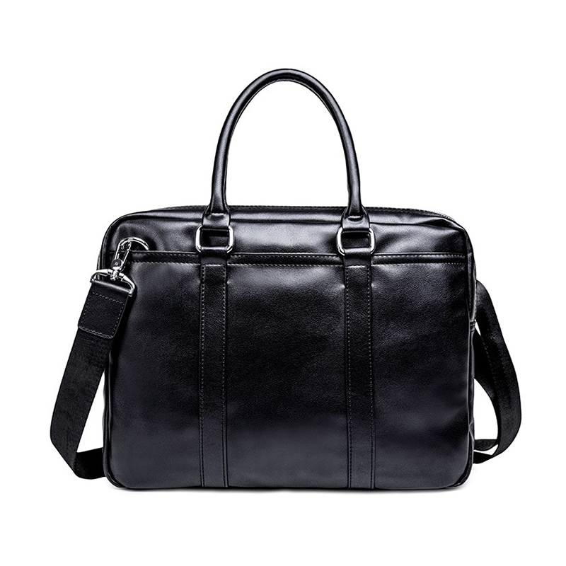 Men Briefcase Bag Business Leather Handbag For 13 Inch Laptop Bags Man Travel Briefcase Tote Bag A4 Files Male  Shoulder Bag