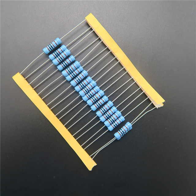 20pcs 2W Metal Film Resistor 0.22 ohm 0.22R +/- 1% RoHS Lead Free In Stock DIY KIT PARTS resistor pack resistance